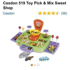Casdon 519 Toy Pick & Mix Sweet Shop £4.99 on Amazon