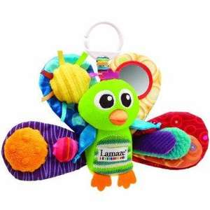 Lamaze Jacques the Peacock £3.99. Min spend £10. @ Amazon