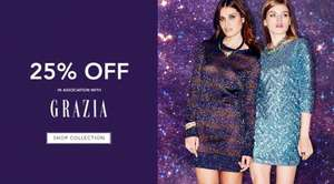 25% OFF @ BANK with voucher from this weeks Grazia magazine