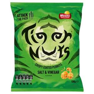 Asda Tiger nuts salt and vinegar 50p self check out
