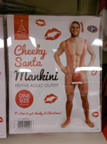 Man's Santa Mankini £2.99 @ B&M