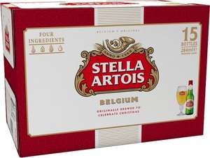 15 bottles of stella artois £8 @ asda