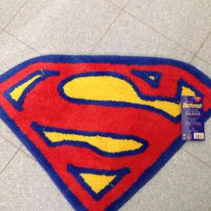 Superman bathmat only £1.49 @ home bargains
