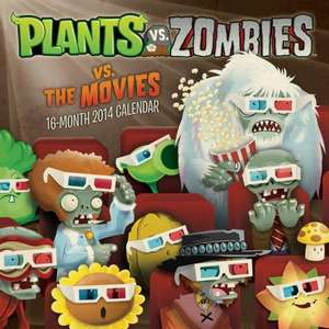 Plants vs Zombies 2014 calendar, Allposters.co.uk, 30% off today only