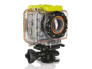 Full HD waterproof action camera with 4gb sd card, 3yr warranty £89.99 @ lidl from 28th