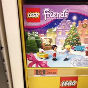 Lego friends advent calendar 41016 £13.32 at sainsburys instore