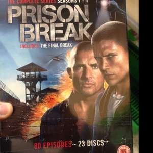 Prison break complete box set £20 asda instore!