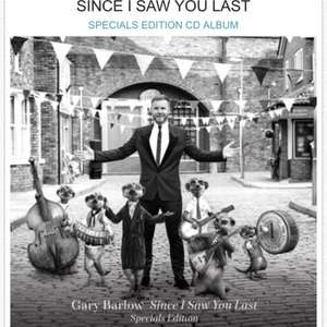 Free Gary Barlow Specials Edition CD via Comparethemarket