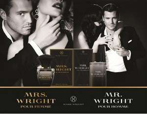 Mr Wright 100ml / Mrs Wright 50ml Perfumes - £3.99 @ Savers