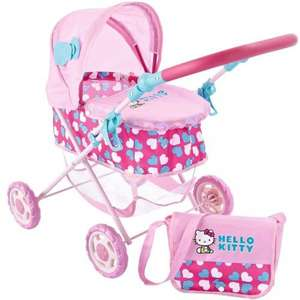 Hello Kitty Bella Dolls Pram, £15.66 delivered @ Amazon