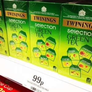 Twining Selections Green Tea- £0.99 @ Home Bargains