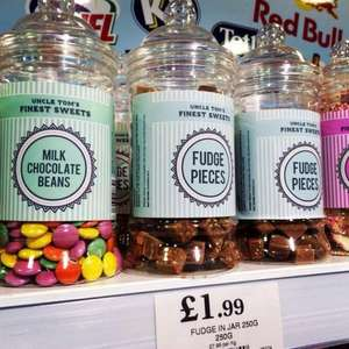 Various sweet/chocolate - Uncle Tom Sweet Jars - £1.99 @ Home Bargains