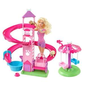 Barbie Slide & Spin Pups Doll and Playset £12.49 @ smythstoys and/or Amazon