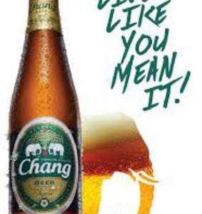 4 x 500ml bottles of Chang Beer £5 @ Tesco