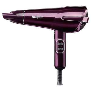 BaByliss 5560GU 2100W Elegance Hair Dryer back in stock £14.50 @ Tesco free click & collect