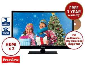 "24"" LED TV & DVD Combo 129.99 @ aldi"