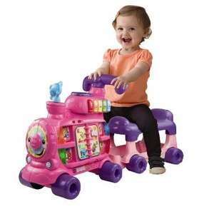 Vtech Push & Ride Alphabet Train - £15 off, £34.99 @ Smyths Toys