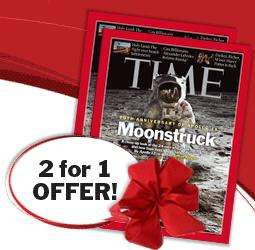 2 x TIME magazine subscriptions (plus free watch) £29