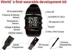 Texas Instruments EZ-430 Chronos smart watch kit £18.51 @ TI store shipping included