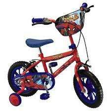 "Spectacular Spiderman 12"" Kids' Bike £49.50 at Tesco Direct"