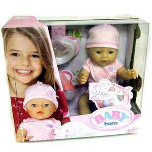 Baby Born Interactive Girl Doll £22.99 delivered at Amazon