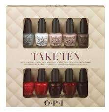 OPI Take 10 mini gift set £18.98 @ Amazon/Hollywood Nail Supply