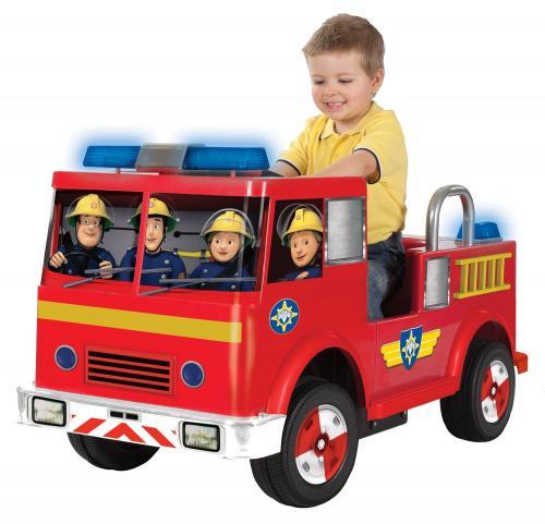 Fireman Sam Jupiter 12V battery powered ride on £158.64 @ Amazon
