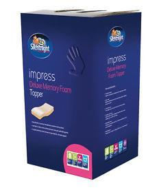 Silentnight Memory Foam Mattress Topper 80% OFF £49.99 @  uk-bedding Ebay