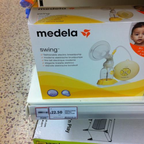 Medela Swing electric breast pump - £22.50 @ Tesco