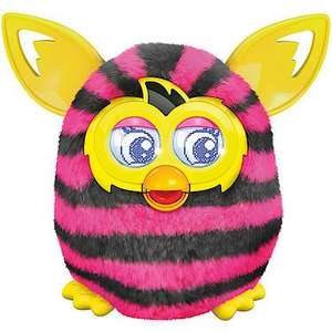 "Furby Boom Straight Stripes the entertainer (the toy shop) £20 off code ""santa"" £39.95"