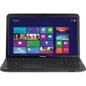 Toshiba C850 15.6 Inch 320GB 2GB Laptop.  Excluded from the Argos 30 day money back guarantee. £259.99
