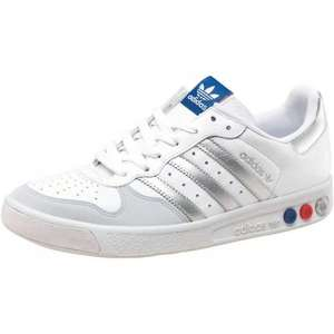 Adidas Originals Mens G.S II Grand Slam Trainers White/Silver/Royal RRP £69.99 £30.98 mandmdirect