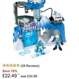 Imaginext Mr Freeze headquarters argos. £22.49 @ Argos