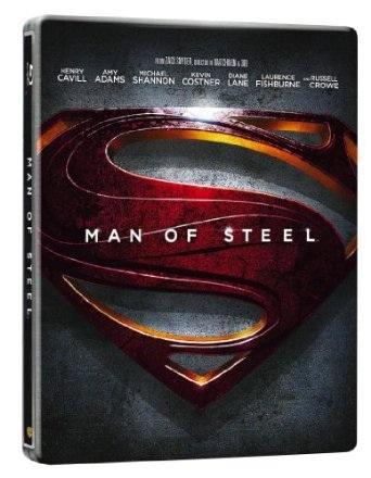 Man of Steel - Limited Edition Steelbook [Blu-ray 3D + Blu-ray + UV Copy] [2013] [Region Free] £19.59 @ Amazon