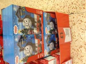 Thomas the tank engine & peppa pig chocolate advent calendars £1.00 @morrisons