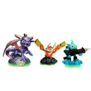 Expired - Skylanders Character Pack (Spyro, Gill Grunt and Trigger Happy - No accessories Link in OP) - Tesco eBay