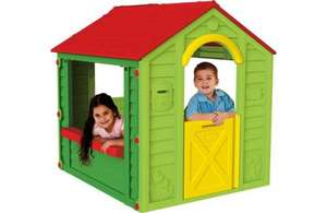 Keter Holiday Playhouse - £40 (with code TDX-7DXM) @ Tesco Direct