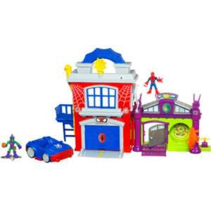 Playskool spiderman headquarters £27 @ Debenhams