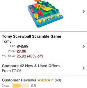 Screwball scramble £7.06 @ Amazon