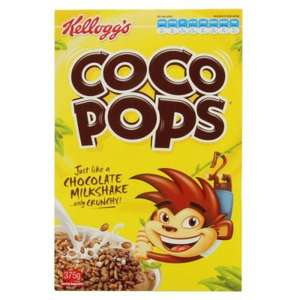 Kellogg's Coco Pops 295g Boxes are now Only £1.00@ Asda.