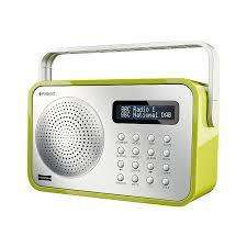 Polaroid DS360 DAB Portable Radio Black OR Green £19 @ ASDA Direct