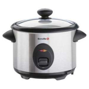 Breville ITP181 Rice Cooker and Steamer - Stainless Steel 1.8lt-700wt  £19.99  was £39.99 Half Price @Argos