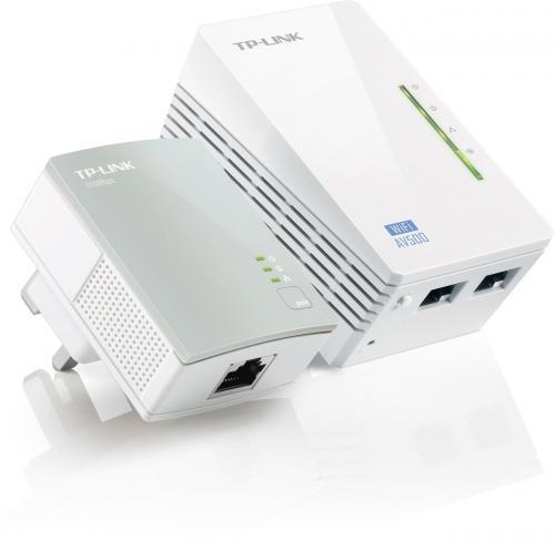 TP-Link TL-WPA4220KIT AV500 Powerline 300M Wi-FI Extender with Two LAN Ports Starter Kit - £49.99 @ Argos (£5 Argos voucher deducted)