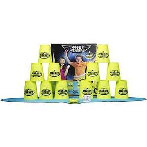 Speed School Stacking Cups Game WAS £25 NOW £12.50 @ The Entertainer, Use voucher and get them for £11.88