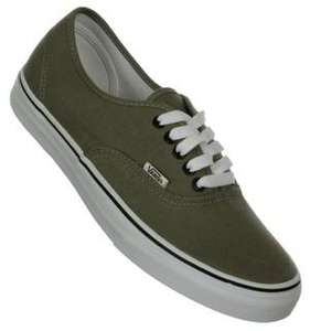 Vans from £24.75 lots of sizes and styles Brown bag clothing 25% off everything 15% Quidco! Potentially £22