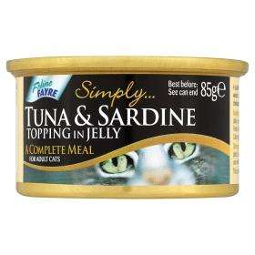 Feline Fayre Cat Food - 68p each or 4 for a £1 - Asda