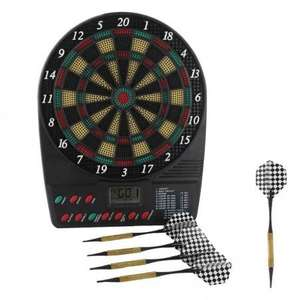 electronic dartboard was £9.99 now £2.99 + delivery @menkind