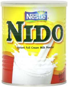 Nestle Nido Milk Powder 400 g (Pack of 6) for £18 or £17.10 Delivered with Subscribe and Save @ Amazon
