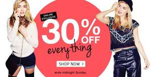 30% off EVERYTHING at Internacionale! One day only - ends midnight!