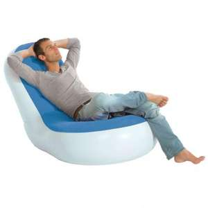 Inflatable gaming e chair was £33.24 delivered now £18.24 delivered @menkind (one day only )